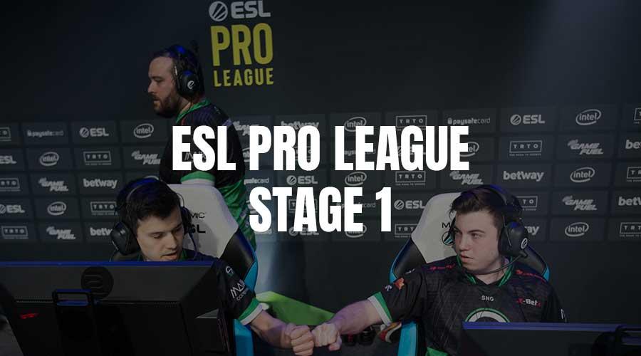ESL Pro League stage one